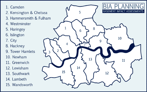 London Borough Map
