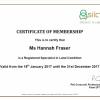 SiLC Certificate